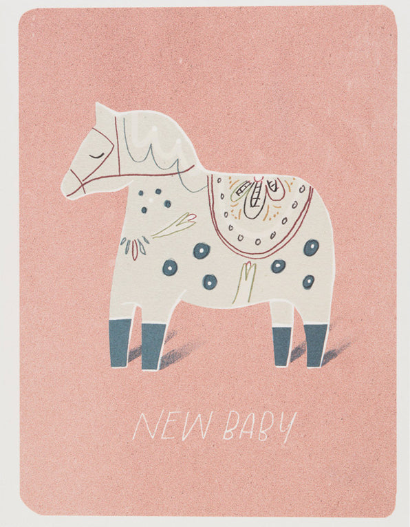 Baby Pony Greeting Card