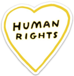 Human Rights Sticker
