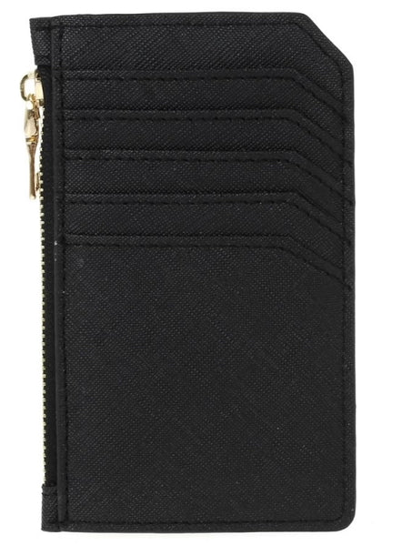 Multi Pocket Card Case - Black