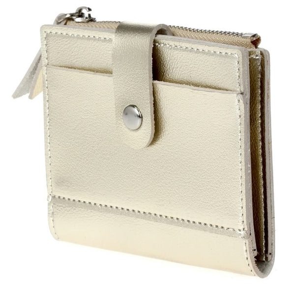 Bi-fold Multi Slot Card Case - Gold