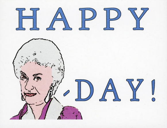 Happy Bea-Day Greeting Card