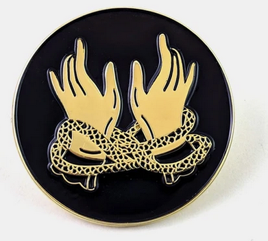 Magic Hands Enamel Pin
