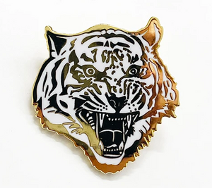 Tiger Enamel Pin