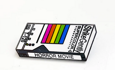 Horror Movie Enamel Pin