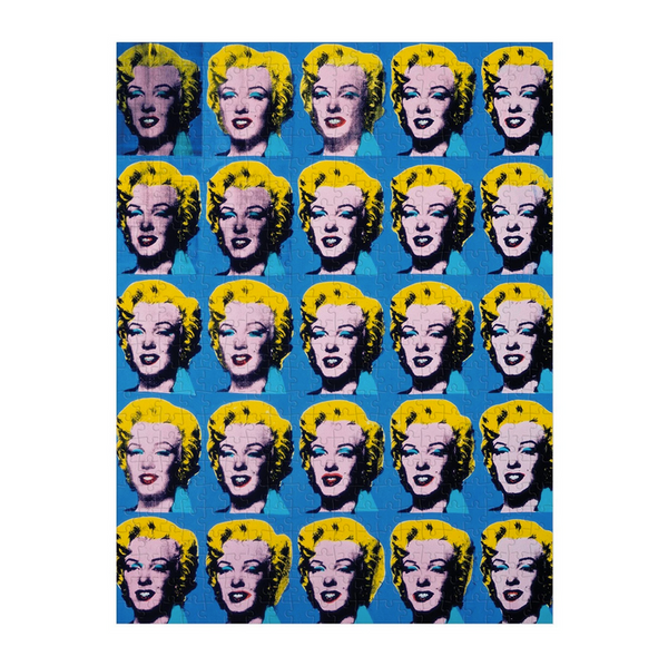 Warhol Marilyn Double Sided Puzzle
