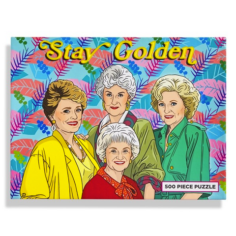 Golden Girls Stay Golden Puzzle **PRE-ORDER ONLY**