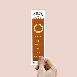 Ate Gluten And Lived - Award Ribbon