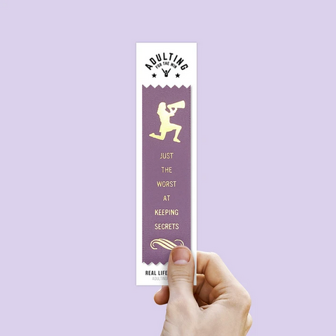 Worst At Keeping Secrets - Award Ribbon