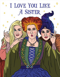 Hocus Pocus Greeting Card