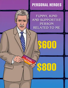 Jeopardy Dad Birthday Greeting Card