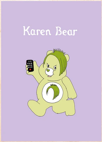 Karen Bear Greeting Card
