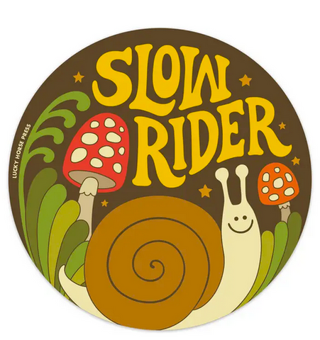 Slow Rider Sticker