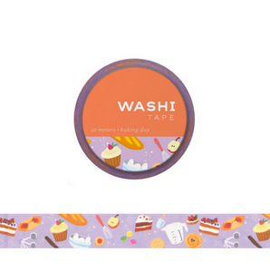 Baking Day Washi Tape
