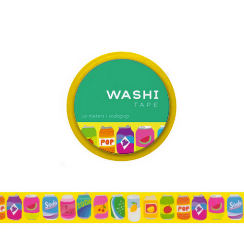 Soda Pop Washi Tape