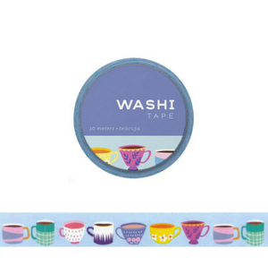Teacups Washi Tape