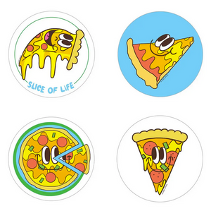 Pizza Scratch 'n Sniff Stickers