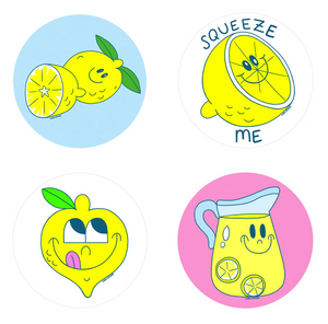 Lemon Scratch 'n Sniff Stickers