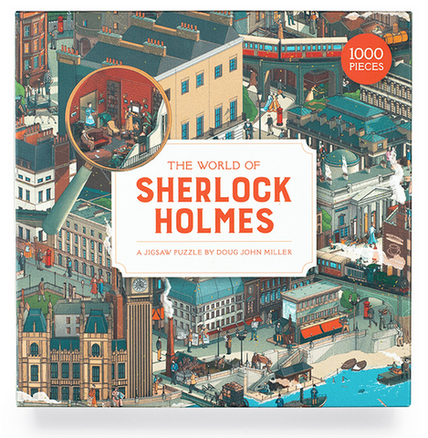 The World of Sherlock Holmes Puzzle