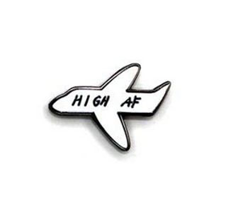 High AF Pin - Heroes For Hire Enamel Pins - Ottawa, Canada