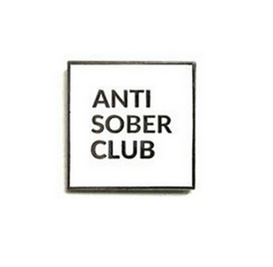 Antisober Pin - Heroes For Hire Enamel Pins - Ottawa, Canada
