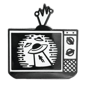 Alien Broadcast Enamel Pin