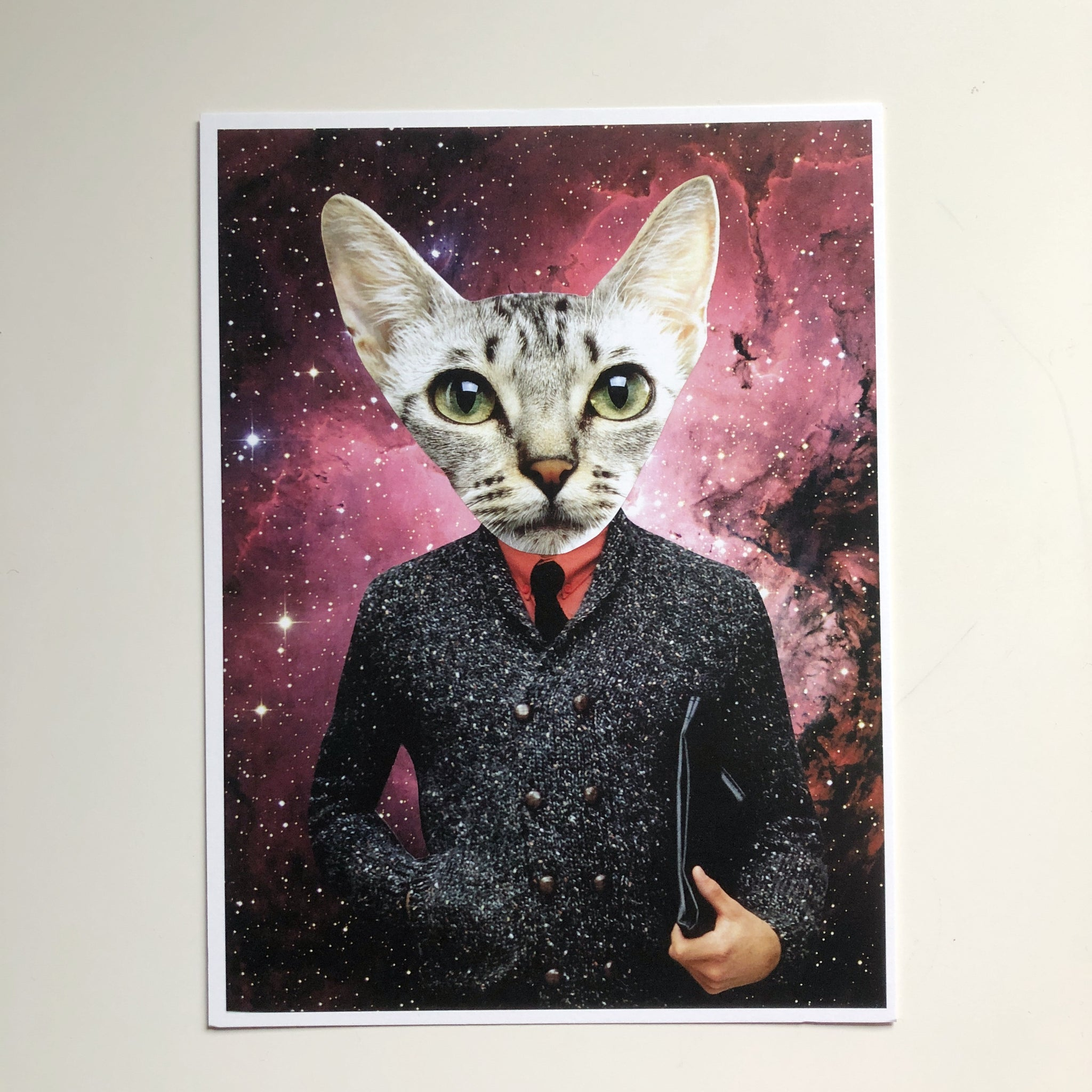 Space Kitty Print