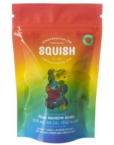 Vegan Rainbow Bears Squish Candy