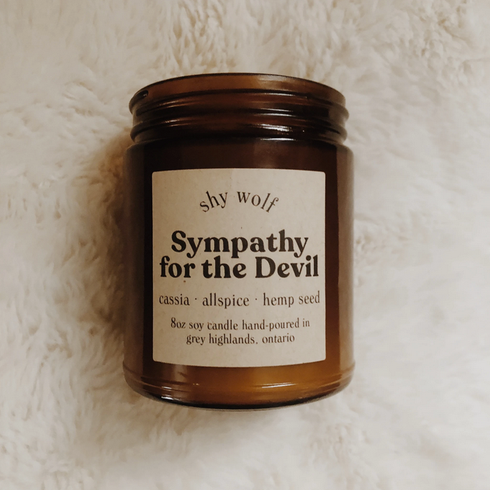 Sympathy For The Devil Candle