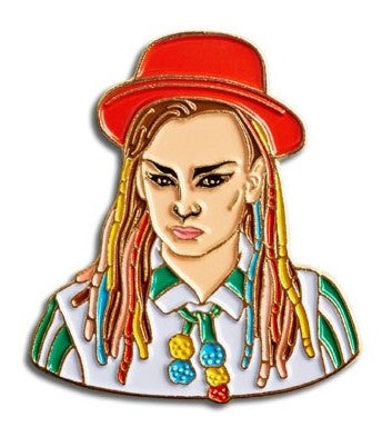 Boy George Pin - Enamel Pins - Ottawa, Canada