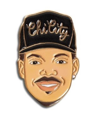 Chance The Rapper Pin - Enamel Pins - Ottawa, Canada