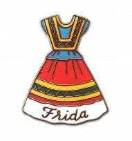 Frida Dress Enamel Pin