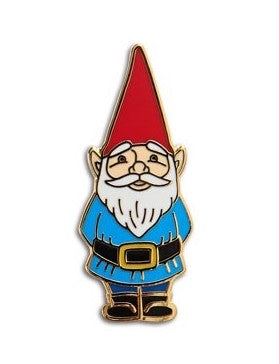 Gnome Pin Enamel Pin