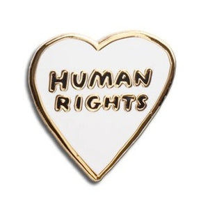 Human Rights Enamel Pin