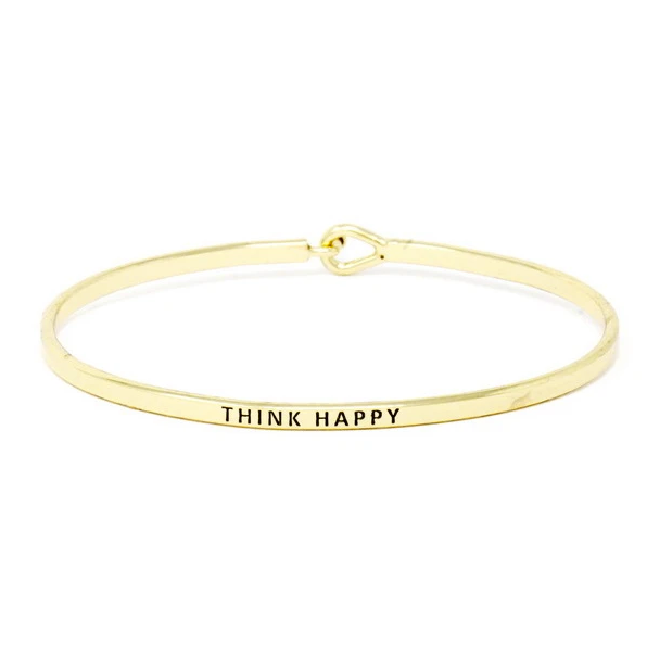 Think Happy Bracelet