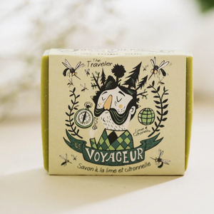 The Traveler - Lime and Lemongrass Soap