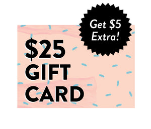 BONUS HOLIDAY GIFT CARDS