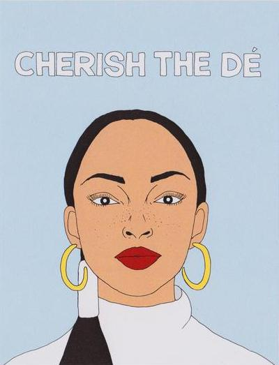 Cherish The Dé - Fineasslines Greeting Card - Ottawa, Canada