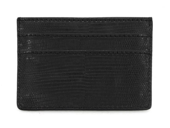 Double Sided Card Holder - Black
