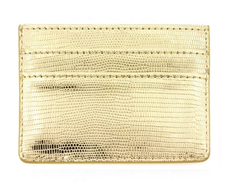 Double Sided Card Holder - Gold