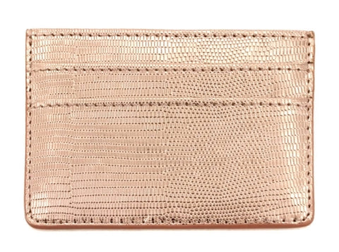 Double Sided Card Holder - Rose Gold