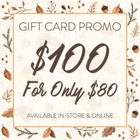 * GIFT CARD PROMO *