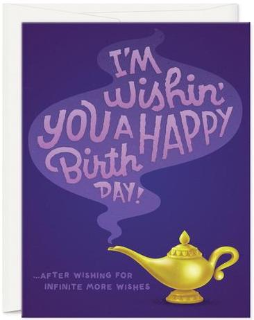 Infinite Wishes - Oh Hi Co. Greeting Card - Ottawa, Canada