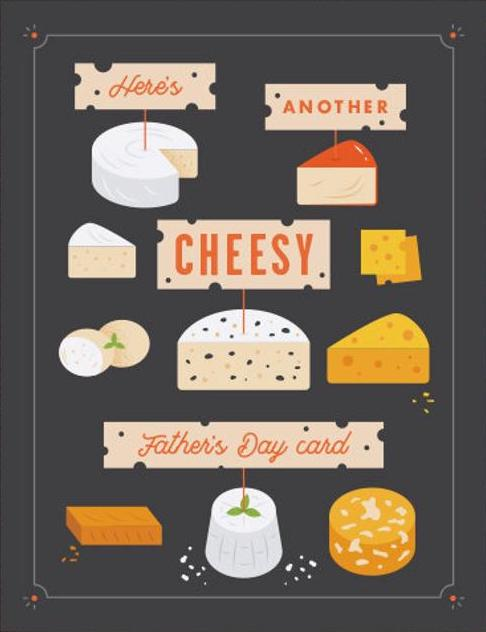 Cheesy Father's Day Greeting Card