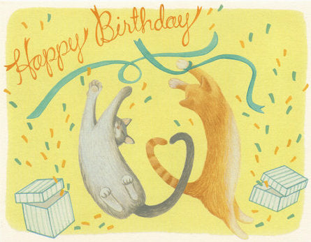 Happy Cats - Yeppie Paper Greeting Card - Ottawa, Canada
