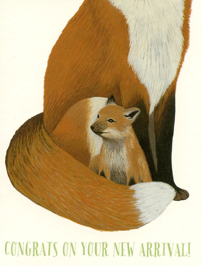 Fox Baby - Yeppie Paper Greeting Card - Ottawa, Canada