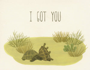 Turtles I Got You - Yeppie Paper Greeting Card - Ottawa, Canada