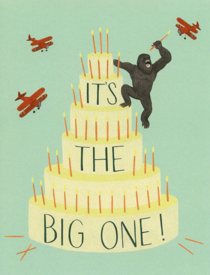 King Kong Cake - Yeppie Paper Greeting Card - Ottawa, Canada
