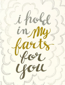 My Farts Greeting Card