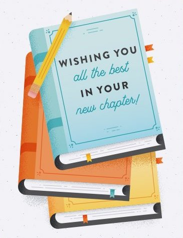 New Chapter - Quirky Paper Greeting Card - Ottawa, Canada