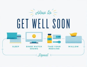 How To Get Well - Quirky Paper Greeting Card - Ottawa, Canada